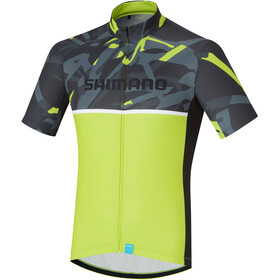 Shimano Team Jersey Men yellow